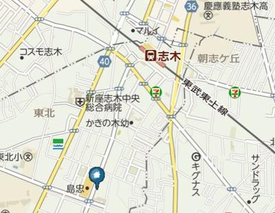 【地図】Riboshini(リボシーニ)