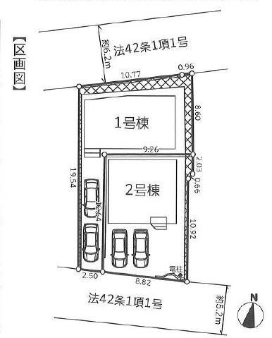 新築 藤沢市本藤沢3丁目2期 1号棟
