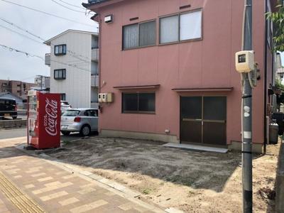 【外観】細野倉庫付事務所