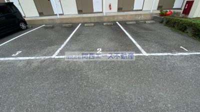 【駐車場】レオパレスFUKONO壱番館