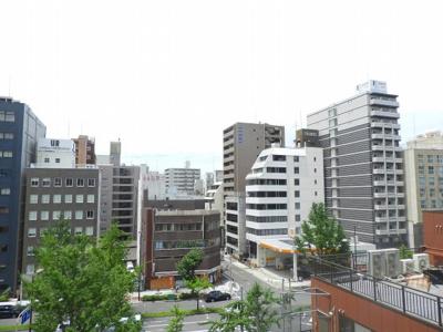 【バルコニー】シティータワー堀江