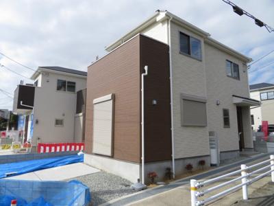 【外観】箕面市稲2丁目 新築戸建 3号棟
