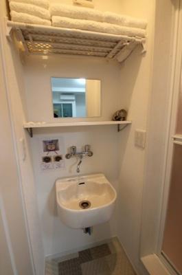 1階の洗面です。