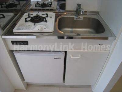 グランディアⅡのコンパクトなキッチンで掃除もラクラク