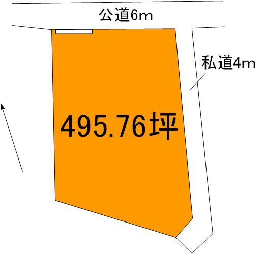 【土地図】日立市西成沢町3丁目土地