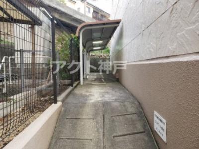 バイク置場☆神戸市垂水区 エスポワール垂水☆