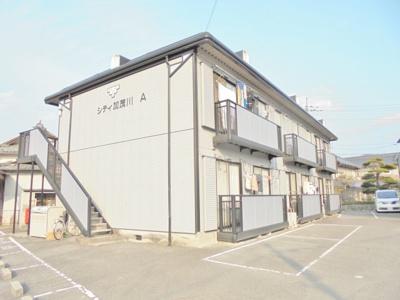 シティ加茂川B・軽量鉄骨造