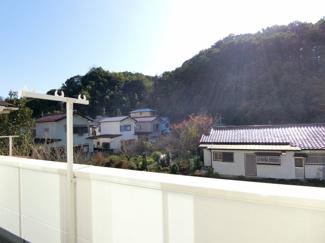 2Fバルコニーからの眺望