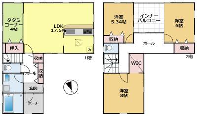 【外観】大津市唐崎1丁目18 新築戸建
