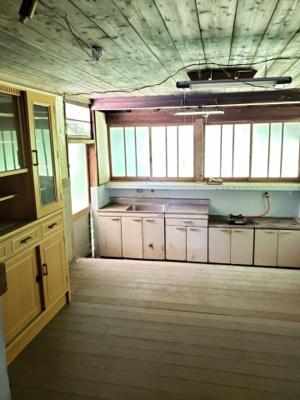 【キッチン】鳥取市東今在家古民家中古戸建