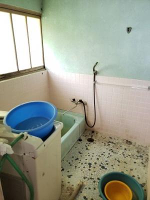 【浴室】鳥取市東今在家古民家中古戸建