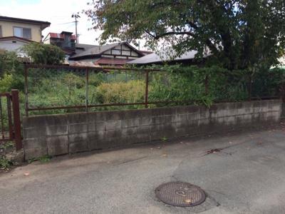 【前面道路含む現地写真】紫波町日詰西裏