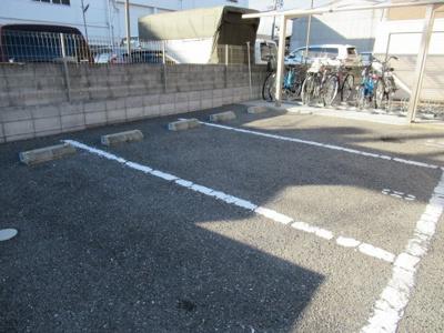 駐車場完備です