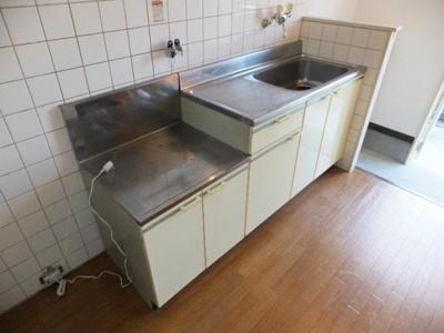 【キッチン】コスモハイツ秦荘