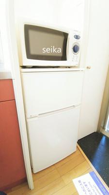 冷蔵庫・電子レンジ付き