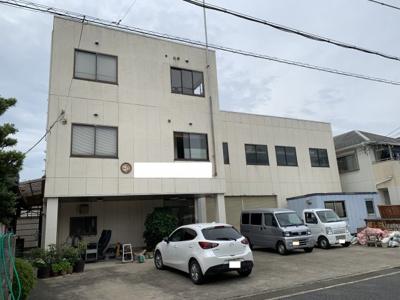 【外観】本堅田1倉庫・事務所