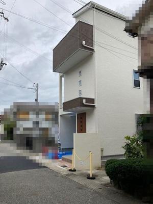【前面道路含む現地写真】神戸市垂水区星が丘2丁目 新築戸建
