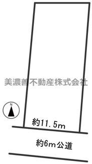 【区画図】55241 関市居敷町土地