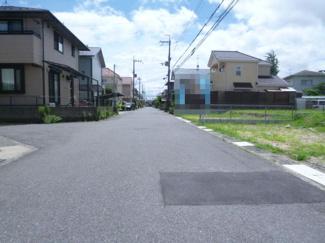 【前面道路含む現地写真】グリーンパーク丸の内町 2号地【建築条件無し】