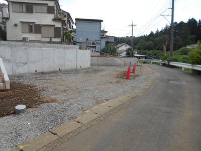 【前面道路含む現地写真】今宿南町新築戸建