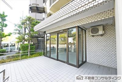 【エントランス】ユニハイム魚崎Ⅱ号棟