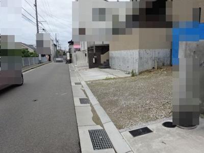 【前面道路含む現地写真】神戸市垂水区霞ヶ丘6丁目 D号地 新築戸建
