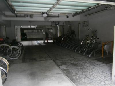【駐車場】マンション北堀江