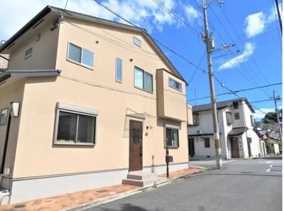 【外観】浄土寺下馬場町 新築戸建 デザイナーズハウス