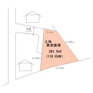 【土地図】大木戸町売地