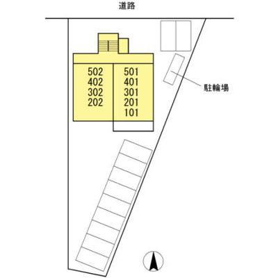 【区画図】ウエルス富任Ⅱ