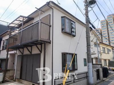 若松町戸建住宅の外観です
