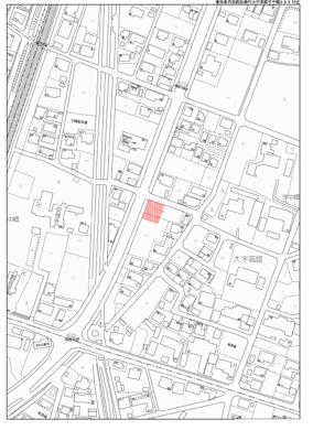 【地図】扶桑町高雄中郷駐車場