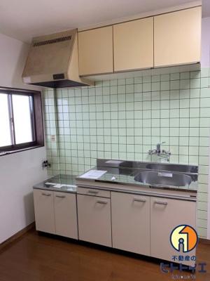 【キッチン】フラワーハイツ
