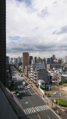 コンシェリア新宿ヒルサイドスクエアの展望です