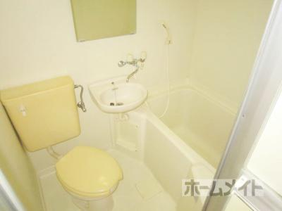 【浴室】オレンジハイツ