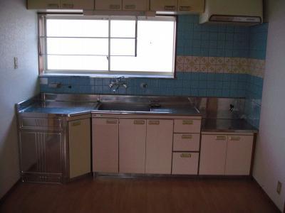 【キッチン】コーポ水野Ⅰ(小原田)