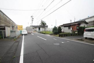 【前面道路含む現地写真】小牧市小木東2丁目 売地