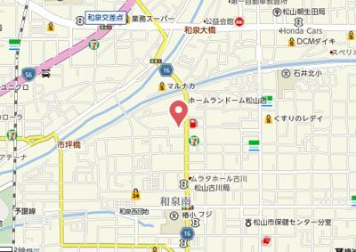 【地図】tetra