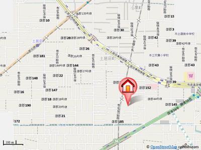【地図】エムズストリートA.B