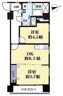 【ペット可】阿佐ヶ谷陵雲閣マンション 9階部分