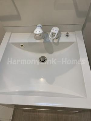 ディアホームズの独立洗面台はシャワーヘッド付
