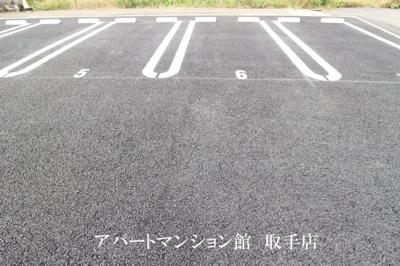 【駐車場】ヴィラオーシカ