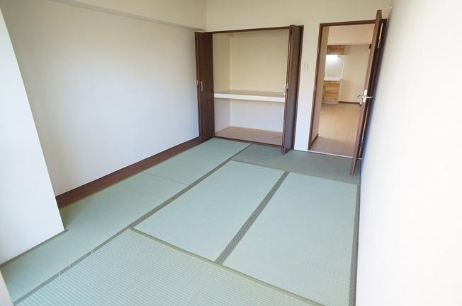 【和室6帖】収納完備です♪