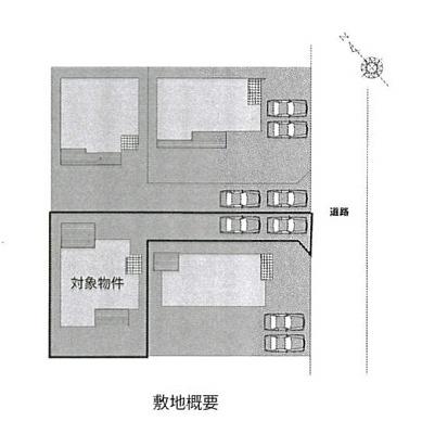 【区画図】前橋市新前橋町中古住宅
