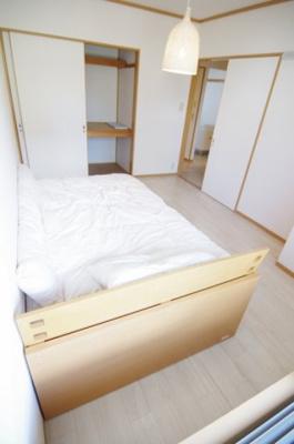 【寝室】パレス大里B
