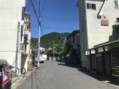 【前面道路含む現地写真】一乗寺出口町 中古テラスハウス
