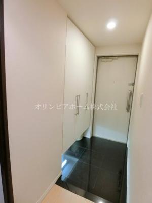 【玄関】クレストフォルム南砂仙台堀川公園 空室 専用庭