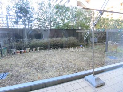 【庭】クレストフォルム南砂仙台堀川公園 空室 専用庭