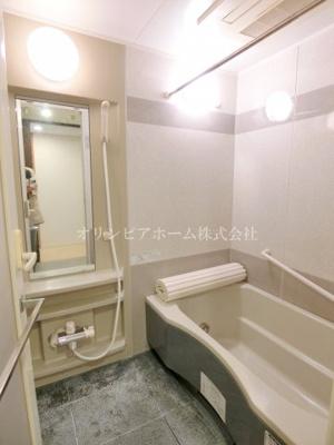 【浴室】クレストフォルム南砂仙台堀川公園 空室 専用庭