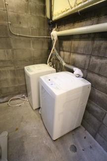 共用洗濯スペース無料でご利用可能となっております。